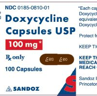 doxycycline label
