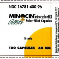 minocin label