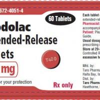 etodolac label