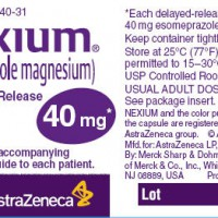 nexium label