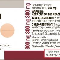 allopurinol label